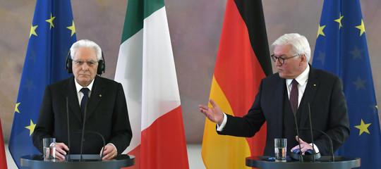 italia germania migranti steinmeier