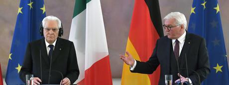Steinmeier e Mattarella