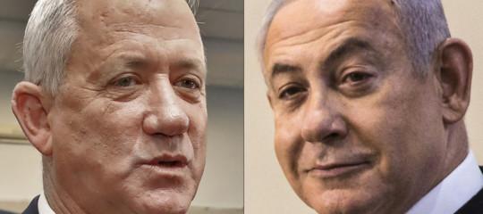 Israele governo Netanyahu Gantz