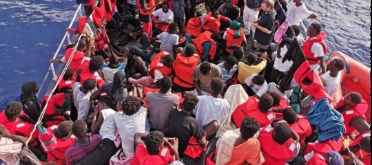 emergenza migranti lampedusa