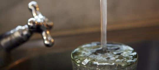 acqua rubinetto tumore