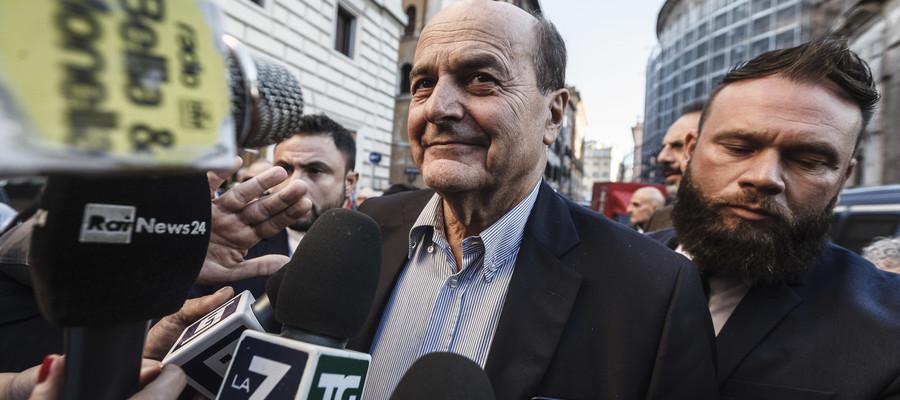 """""""Serve una chiamata molto larga a sensibilitàambientali, sociali, civiche"""", dice Bersani"""