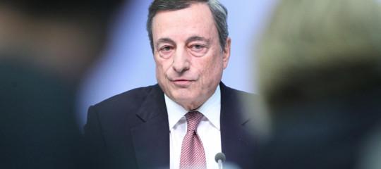 draghi bce eurozona