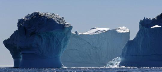 tesoro groenlandia scioglimento ghiacciaicambiamenti climatici