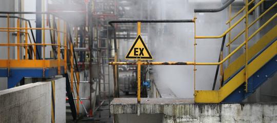Francia incendio impianto chimico