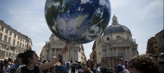 roma milano fridays for future greta manifestazione