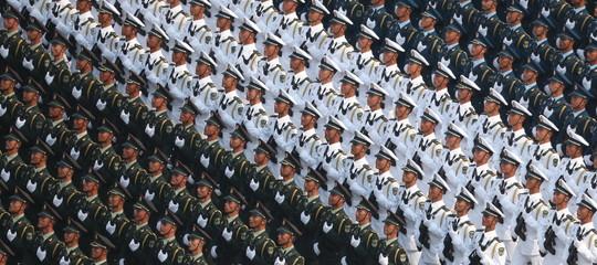 mega parata cina 70 anni fondazione repubblica pechino