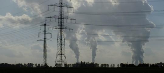 emissioni inquinanti gas serra dati italia