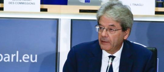 gentiloni commissario audizione strasburgo