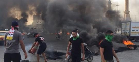 proteste iraq scontri morti