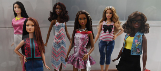 bambola barbie unisex mattel