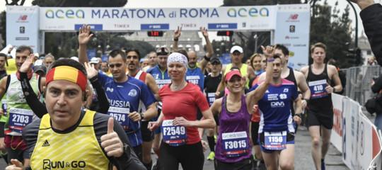 maratone eta partecipanti gender
