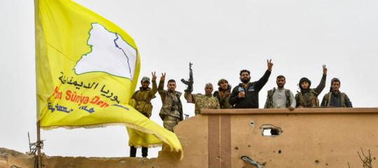 trump guerra siria turchia curdi