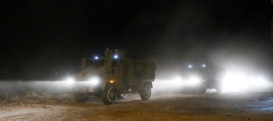 truppe turche avanzano in siria