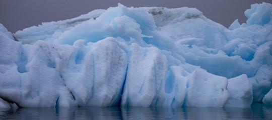 scioglimento ghiacciai antartide