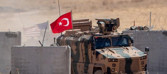 invasione turchia siria erdogan curdi