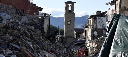Terremoto:crollo e morti edificio Amatrice,a processo Pirozzi e altri 5