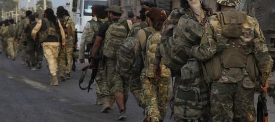 turchia siria guerra curdi