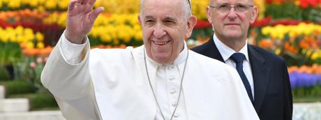 Papa Francesco e Domenico Giani