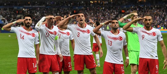 turchia erdogan calcio