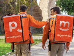 Food delivery: fusione tra le italianeMoovendaePrestofood