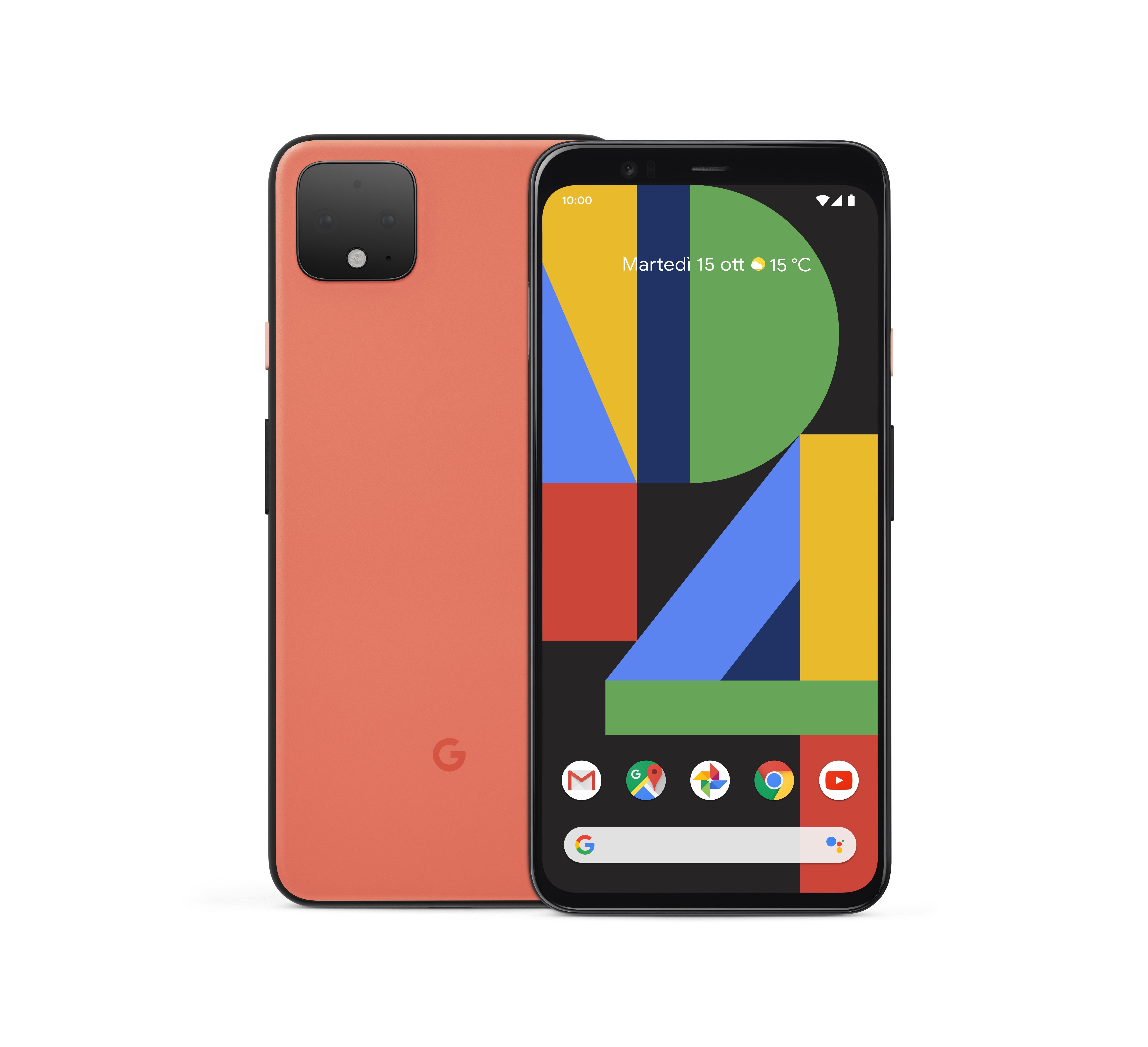 Sui Pixel 4 di Google debuttano la doppia fotocamera e il di