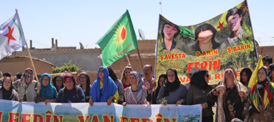 curdi siria usa esercito