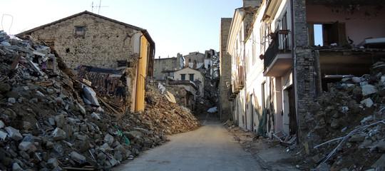 terremoto aree rischio studio