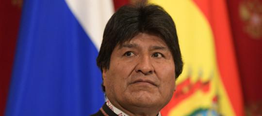 elezioni bolivia golpe morales