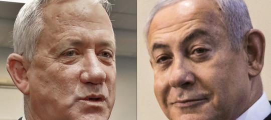 governo israele netanyahu gantz