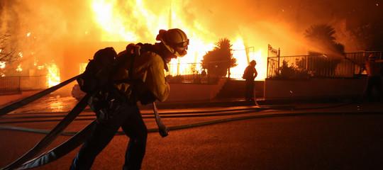 Incendi Oristaneseresort evacuati