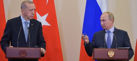 siria erdogan putin guerra