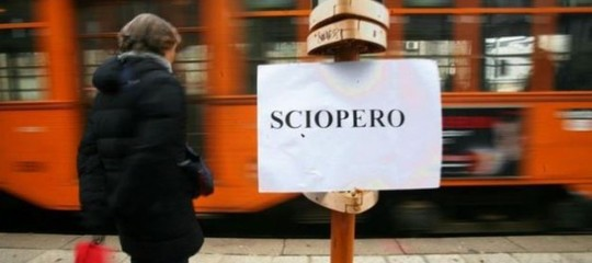 Sciopero Roma venerdi