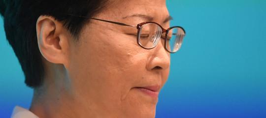 hong kong ritirata legge estradizione