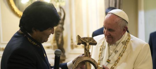 evo morales papa francesco
