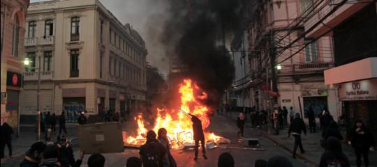 proteste nel mondo