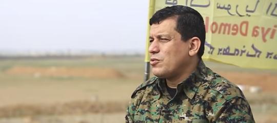 isis comandante curdo Mazlum Abdi
