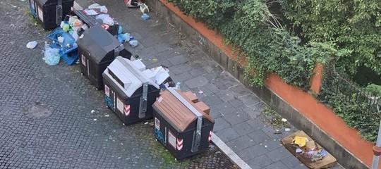 rifiuti roma proteste cittadini