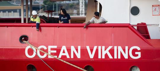 migranti ocean viking porto sicuro