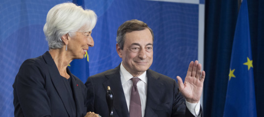addio Mario Draghi bce
