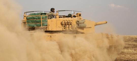siria ritiro curdi ypg fine tregua