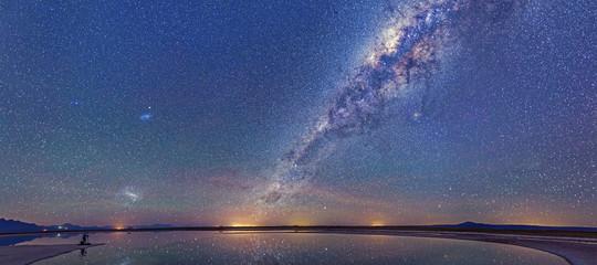 mappa nube magellano spazio