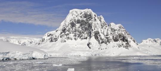 antartide ghiaccio era glaciale