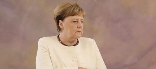 angela merkel elezioni turingia germania