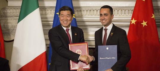 Xi invita Di Maio a cena con leader
