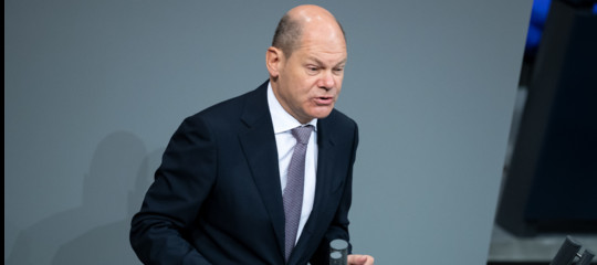Eurozona Scholz unione bancaria