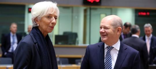 olaf scholz unione bancaria gualtieri