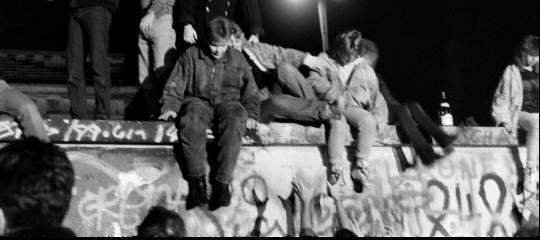 Muro Berlino crollo