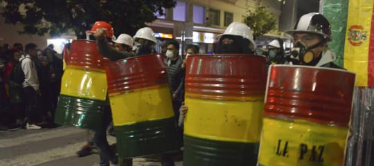 Bolivia Morales golpe