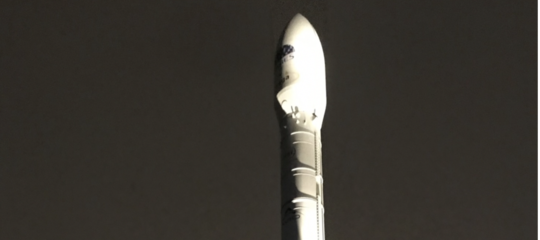 lanciatore vega modello razzo milano